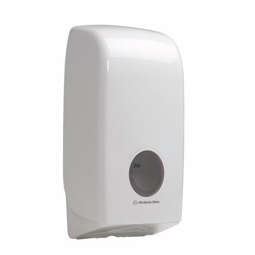 Kimberly-Clark Aqua Bulk Pack Toilet Tissue Dispenser White