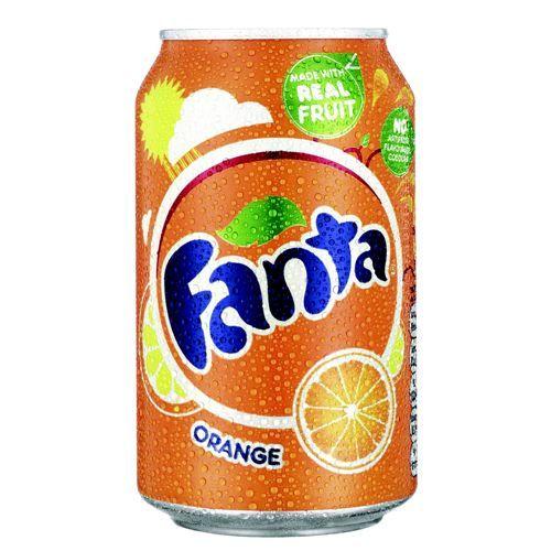 Fanta Orange 330ml Cans Pack 24