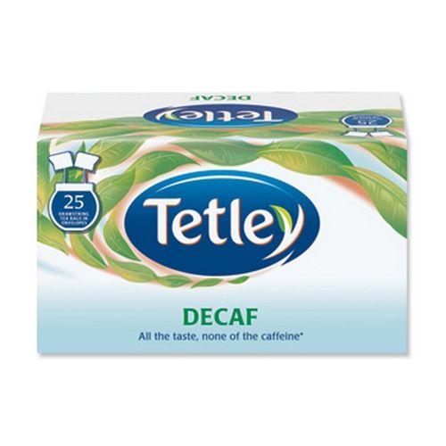 Tetley Draw String Tea Bag Decaffeinated Pack 25