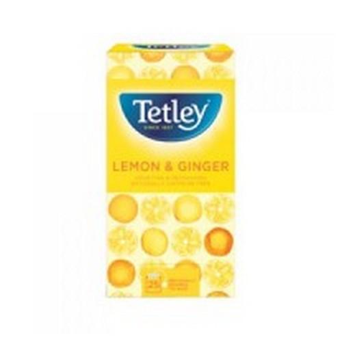 Tetley Lemon And Ginger Tea Pack 25