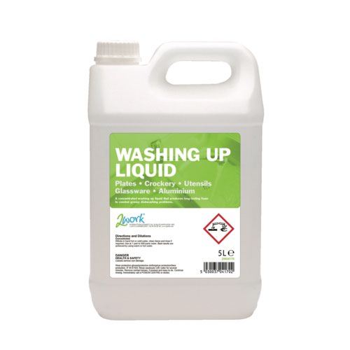 2Work Economy Washing Up Liquid 5 Litre 2W04170