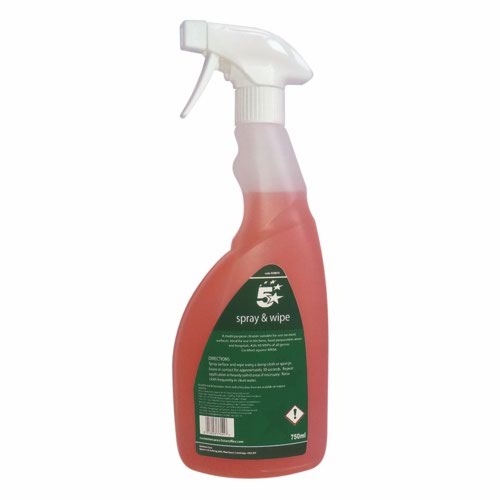5 Star 1 Litre Ready Use Catering Cleaner Multi-Colour