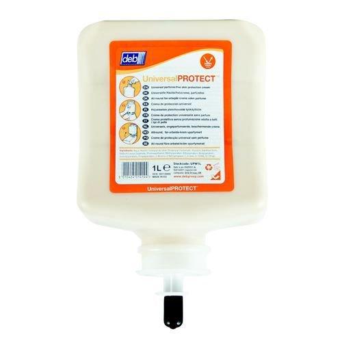 DEB Universal Pre-Work Protect Hand Cream Refill Cartridge 1 Litre