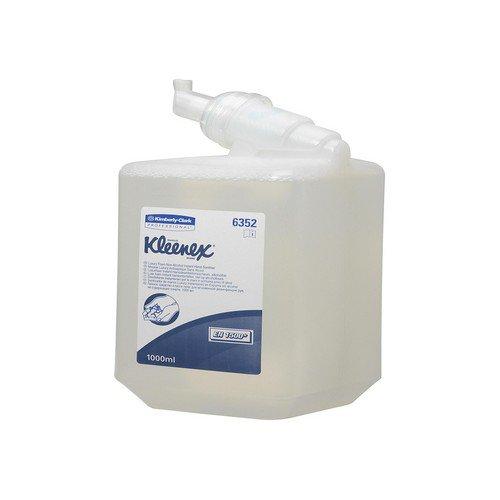 Kleenex Instant Alcohol Hand Sanitiser 1 Litre Cartridge (Pack of 6) 6382