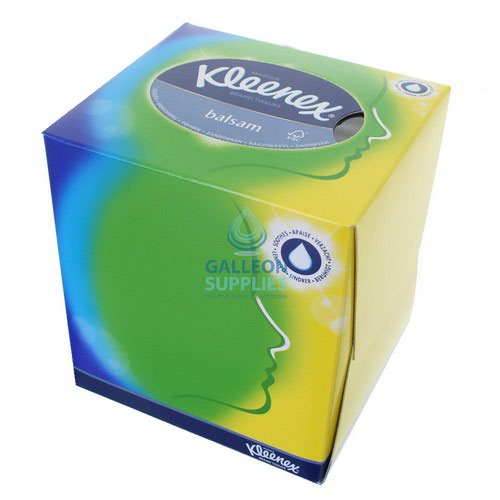 Kleenex Balsam Facial Tissues Cube 56 Sheets