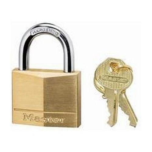 Masterlock Padlock Brass 50mm
