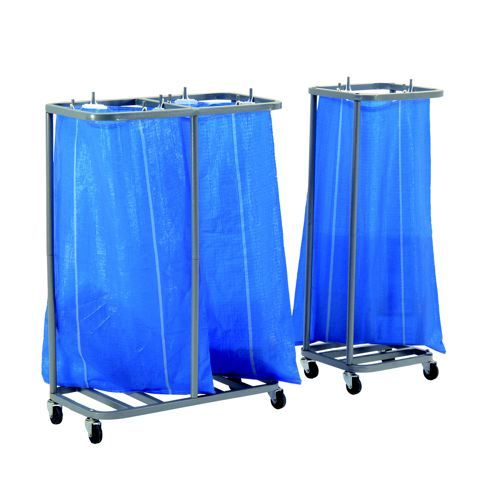 Image for GoSecure Double Sack Holder Silver SH2SIL