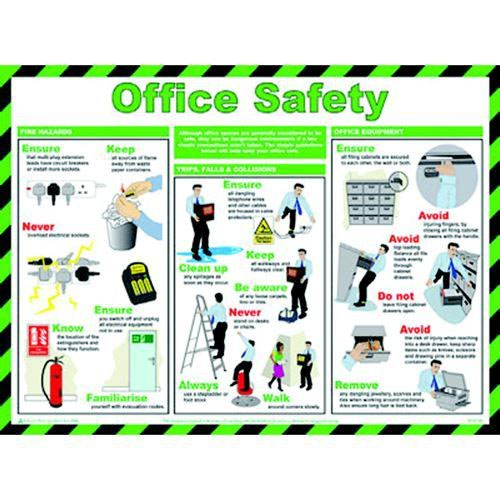 General Sign Office Safety 594 x 420 mm