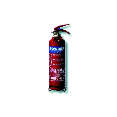 Guardian Fire Extinguisher Refillable Dry Powder for Class A and B and C 1Kg