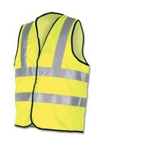High Visibility Vest Polyester Medium Yellow