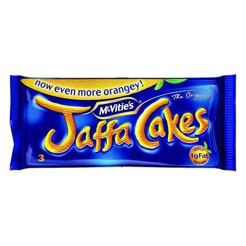 McVities Jaffa Cakes 3 Cakes per Minipack Pack 24