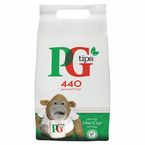 PG Tips Pyramid Tea Bag Pk460 63071