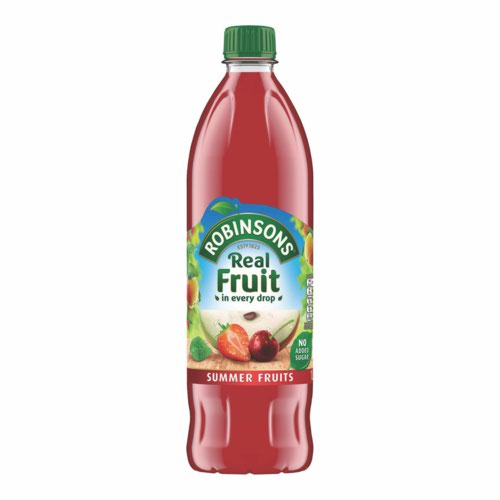 Robinsons Summer Fruits Squash 1 Litre Pack 12