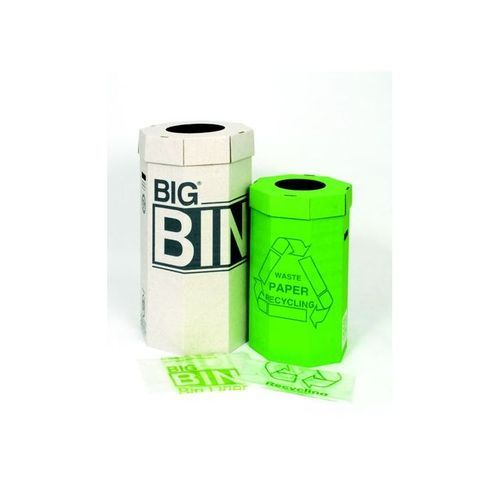 Acorn Green Recycle Bin Pack 5