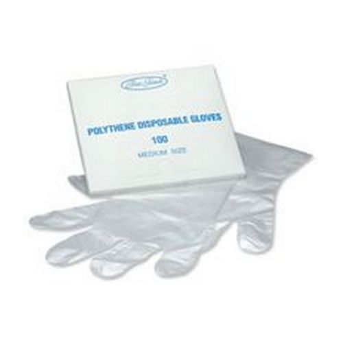 Polythene Disposable Gloves Pack 100