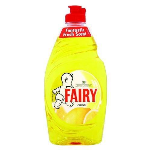 Fairy Liquid Lemon 450ml Pack 2