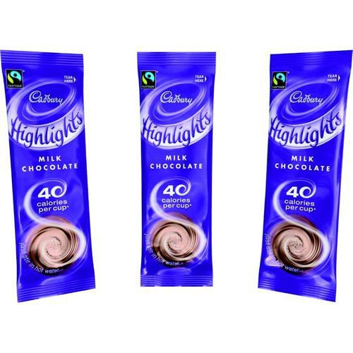 Cadbury Highlights Instant Drinking Chocolate Sachet 11g (Pack of 30) A03334