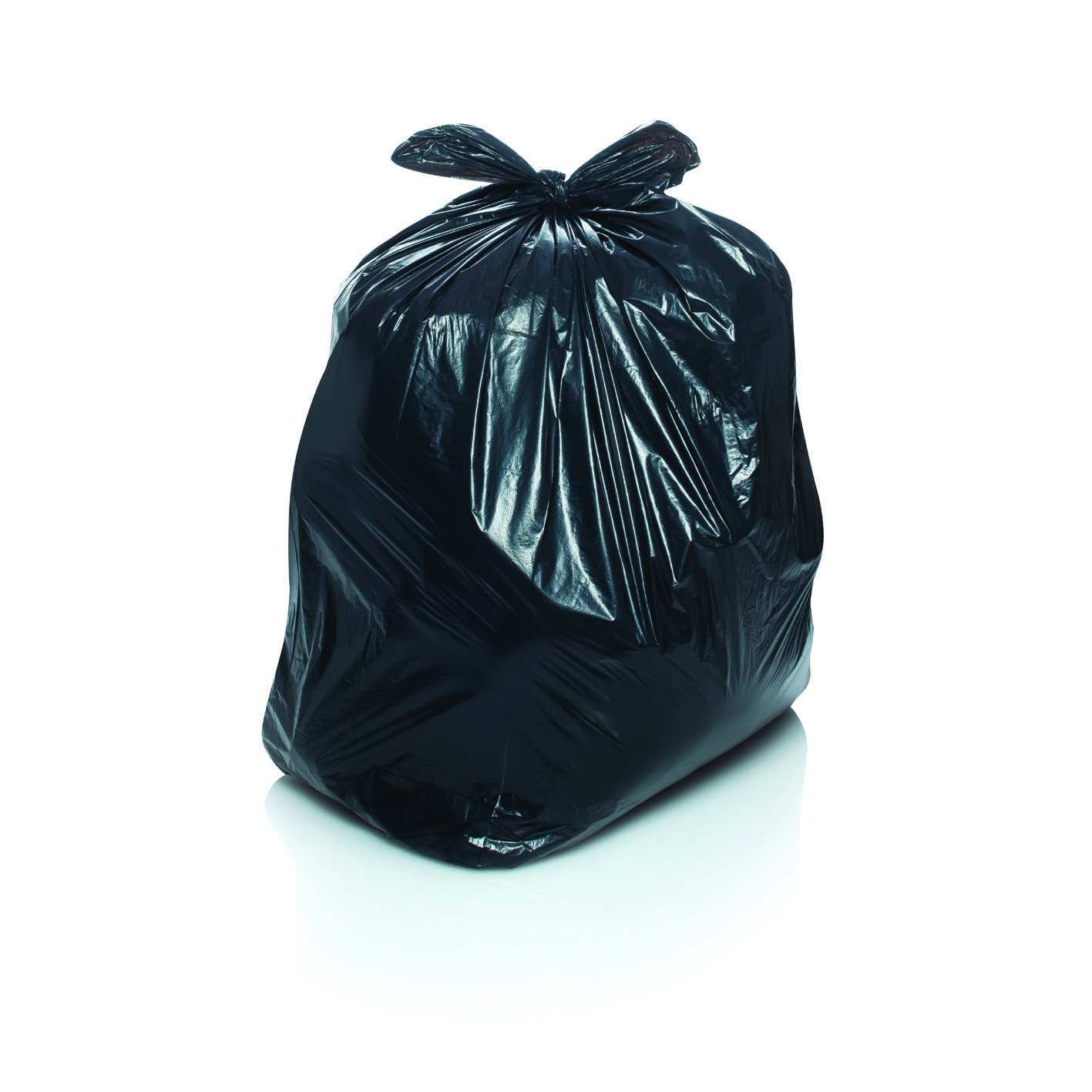 Black refuse sacks ideal for use in the office  school or home.