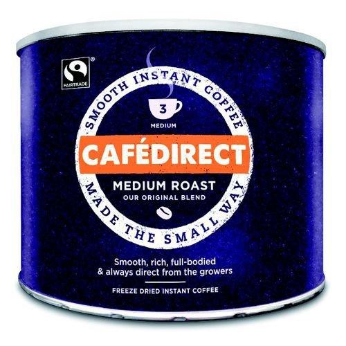 Cafedirect Smooth Roast Freeze Dried Coffee Tin 500g TWI4101