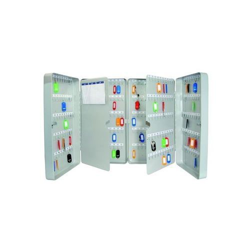 Helix Standard Key Safe Steel With Cylinder Lock And Fixings 300 Key Capacity