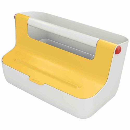 Leitz Cosy Storage Carry Box Warm Yellow
