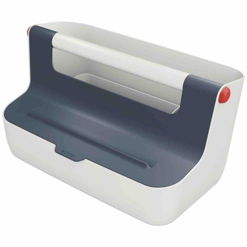 Leitz Cosy Storage Carry Box Velvet Grey
