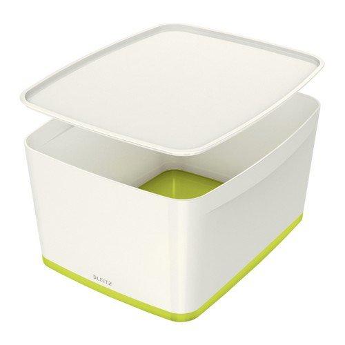 Leitz Mybox Large With Lid White/Green