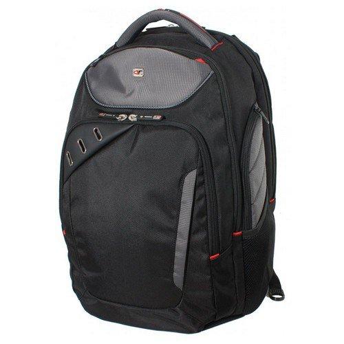 Gino Ferrari Backpack 16in Red Trim