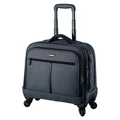 Phoenix Business Trolley Four 360? Wheels Padded Laptop Compartment