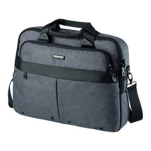 Shoulder Straphandles Padded Laptop And Tablet Comparment Zip Trolley Belt