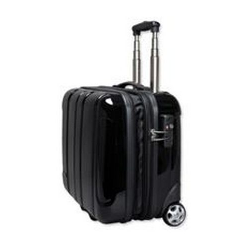 Juscha JSA Business Case With Trolley Polycarbonate/ABS-Mix Black