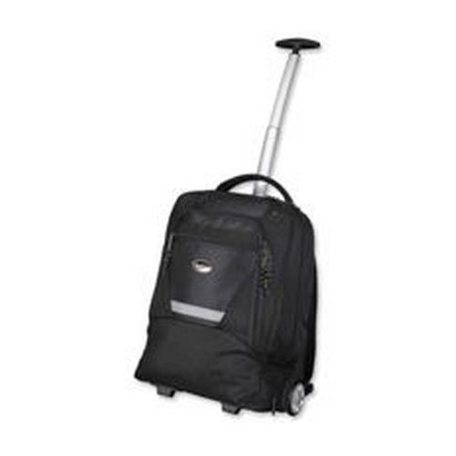 Lightpak Laptop Backpack With Trolley Polyester Black Capacity 15.4 Inch