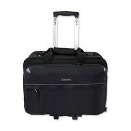Lightpak Business Trolley Bag with Laptop Compartment Polyester Capacity 17 Inch Black