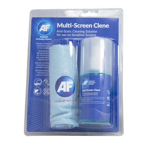 AF Multi-Screen Clene With Large Micro-Fibre Cloth Amca_200Lmf