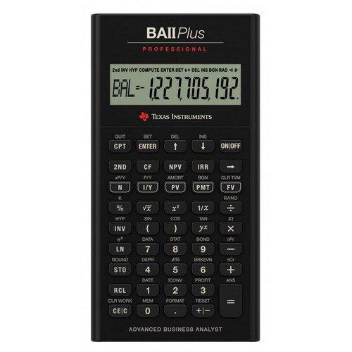 BA II Plus Pro Financial Calculator