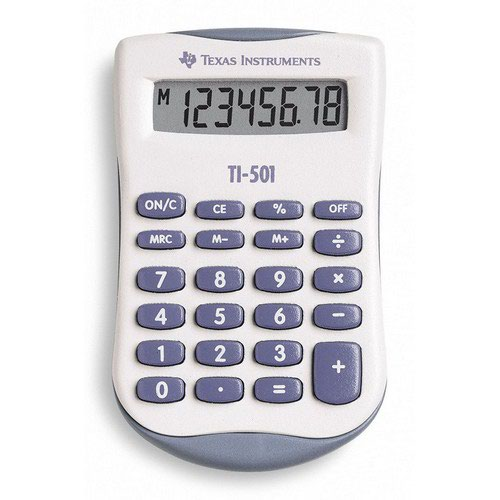 TI-501 Pocket Calculator