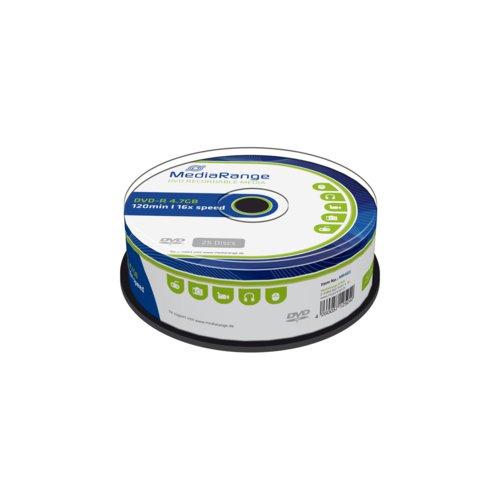 Mediarange Dvd-R 4.7Gb 120Min 16X Speed Cake 25
