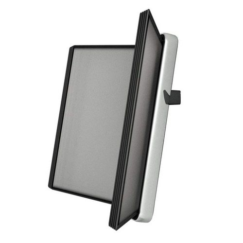 Tarifold A4 Wall Display Unit with 10 Black Pockets
