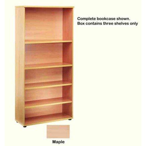 Image for Jemini Open Storage Shelf Maple