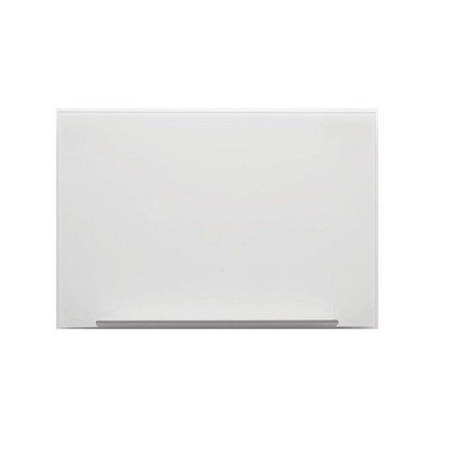 Nobo Diamond Glass Blue Magnetic Whiteboard 677X381mm