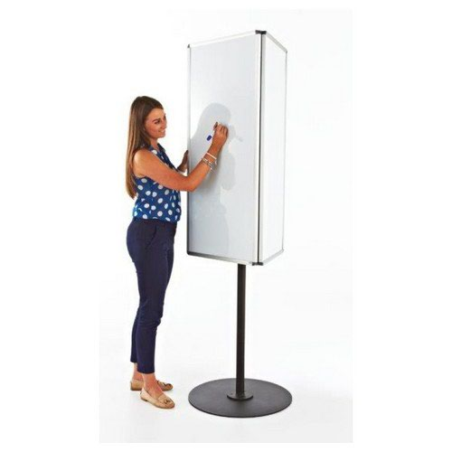 Adboards Rotating Call Centre Board Three Sided Magnetic Whiteboard Rotates 360 Degrees
