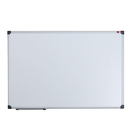 Nobo Dry Wipe Magnetic Board Aluminium Trim 600x450mm