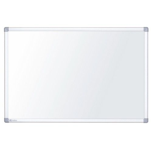 Nobo Nano Clean Steel Whiteboard Magnetic Exclusive Nano Clean Surface W600xH450mm White