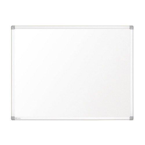 Nobo Prestige Enamel Magnetic Whiteboard 600x450 with Aluminium Trim