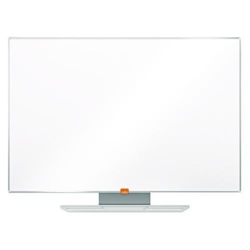 Nobo Prestige Enamel Magnetic Whiteboard 900x600 with Aluminium Trim