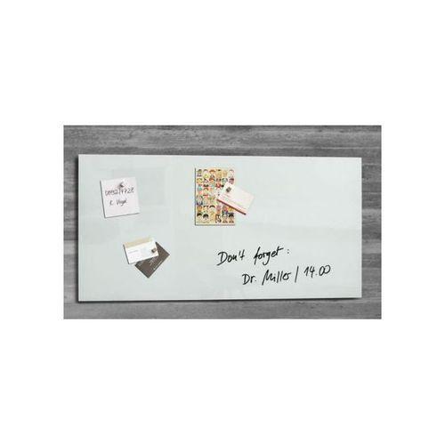 Magnetic Glass Board Artverum White 910x460x15mm