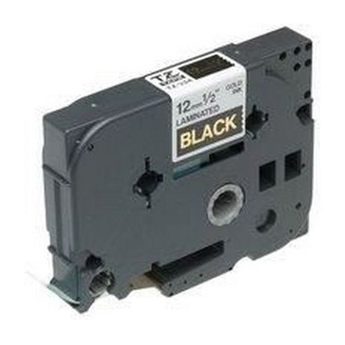Brother P-Touch Tape TZ-334 12mm Gold/Black