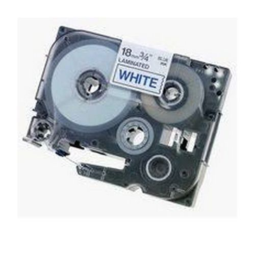 Brother P-Touch Tape TZ-243 18mm Blue/White