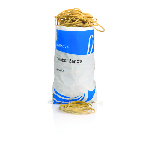 Initiative Rubber Bands Size 18 454g Bags