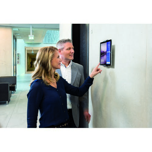 Durable Tablet Holder Wall Aluminium